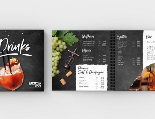 Bocs Bar |Cocktail- & Getränkekarte